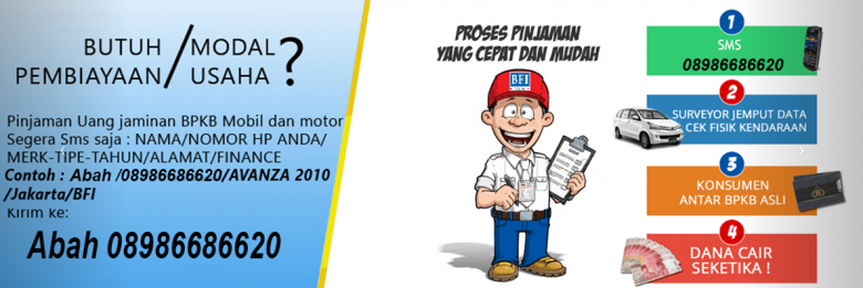 Jaminan Gadai BPKB Mobil dan Motor